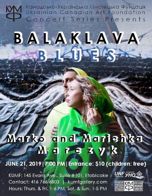 Balaklava Blues. June 21, 2019 @ 7pm.